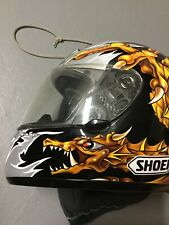 Size Medium SHOEI RF- 900 TROY LEE DESIGNS Motorcycle Helmet DRAGON Design