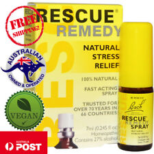 Bach, Rescue Remedy, 100% Natural Stress Relief Spray, 7 ml - Vegan