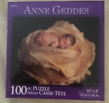 Karmin Int'l Anne Geddes 100 pc Puzzle NEW Baby in Yellow Rose Stocking Stuffer