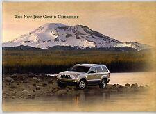 Jeep Grand Cherokee 2005 UK Market Sales Brochure 3.0 CRD 4.7 5.7 Hemi V8