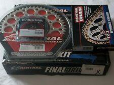 Kit chaîne RENTHAL 482347  pour KAWSAKI KX450F 2006-13 KLX450R 2008-11 13/50