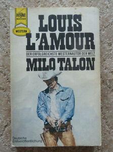 """Western-TB, Louis L'Amour:""""Milo Talon"""", Heyne TB Nr. 2674"""
