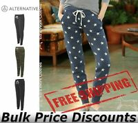 Alternative Women's Eco-Fleece Joggers Pants 31082 up to XL
