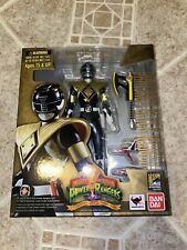 SH Figuarts Power Rangers Armored Black Ranger Zyuranger Super Sentai SDCC 2014