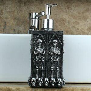 Skull Shower Gel Dispenser Bottle Liquid Soap Dispenser Pump Hand Lotion Bottle