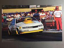 1989 Bruce Allen's Levi Garrett Chevrolet NHRA Pro Stock Dragster Print Picture