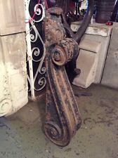 Antique Large Decorative Cast Iron Single Corbel #7421