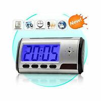 HD 1080P Wireless Wifi IP Camera Motion Security Alarm Clock IR Cam