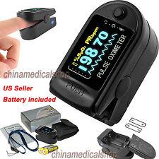 OLED Black Pulse Oximeter SPO2 PR Heart rate Oxymeter Oxygen Saturation US Sale