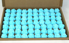 Bath Bombs Blue Lagoon-Banana scented 70 x 10g Flowers less mess reduced plastic