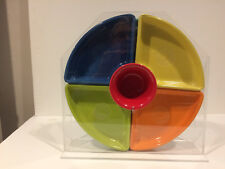 HOLDER FOR NEW POST-86 FIESTA RELISH TRAY -PLEXIGLASS  -UPRIGHT MODEL