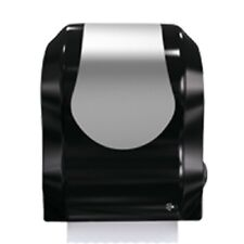 T747Obkssrli Summit Auto-Cut Hardwound Dispenser Black/Stainless Steel