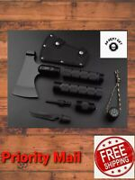 Survival Tactical Axe Hatchet Outdoor Camping Hunting Tomahawk Chopper Multitool