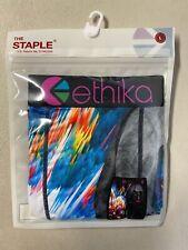 New - Ethika The Staple - Rainbow Explosion Boxer Briefs Large