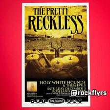 Pretty Reckless 2016 Original 11x17 Concert Poster. Portland Or. Taylor Momsen