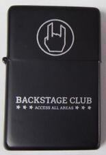 EMP Backstage Club - Zippo -  Neu! + Rockhand Aufkleber! BSC