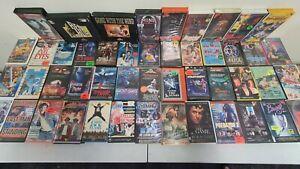 VHS HORROR tapes - ex-rental bundle pack
