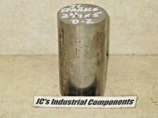 "D-2   tool steel   2-3/4""  diameter  X  5""  long"
