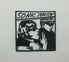 Sonic Youth Patch Sew Iron On Embroidered Rock Band Music Free Shipping DIY logo