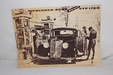 1950 Mercedes Benz Diesel Type 170D Brochure, Reprint