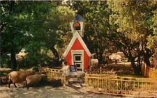 "OAKLAND CA ""Mary Had A Little Lamb"" Children's Fairyland Lakeside Park Postcard"