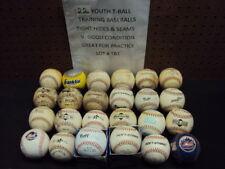 Youth Soft strike Training Baseballs 24 Piece Lot Tight Hides & Seams Lot # TB1