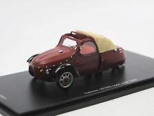 FOXTOYS  - Velorex 16/350 offenes Verdeck - Baujahr 1965 - braun - 1/43