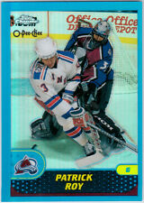 2002-03 Chrome ROY Reprints Refractor #25 Avalanche 01-02 O-Pee-Chee OPC Topps