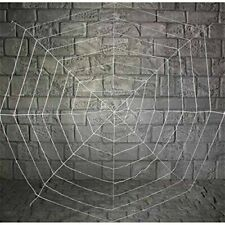 Large White Spiders Web Halloween Decoration 1.8 Metres