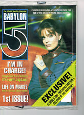Babylon 5 Official Monthly Magazine Lot #1,2,4-8,10 Nm+ Unread Tv Scifi 8 Issues