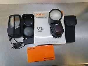 Godox V1-C and Accessory KIT