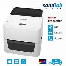 TOSHIBA TEC B-FV4D Thermodirekt Etikettendrucker Labelprinter DHL EasyLog UPS