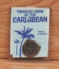 Treasure Replica Coin of the Caribbean Silver Tone Cobs 1580 - 1780 **READ**