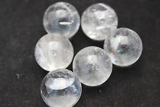 (1) Clear Quartz Mineral Marble Sphere 18-21mm (LISTING IS FOR 1 SPHERE!)