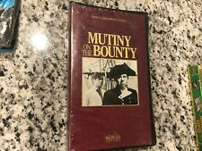 MUTINY ON THE BOUNTY NEW SEALED CLAMSHELL VHS 1935 CLARK GABLE PIRATES ACTION!