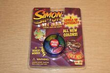 Vintage Simon Novelty Keychain Electronic Game, New Old Stock NEEDS BATTERY
