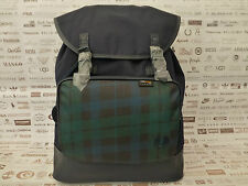 FRED PERRY Backpack L73 Nylon Contrast Rucksack Navy/Ivy Large Shoulder Bag BNWT