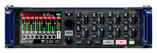 New Zoom F8N 8-in/4-out Multitrack Field Recorder / Mixer Authorized Dealer