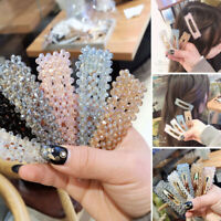 Women Rhinestone Long Barrettes Hair Clip Hairpin Hair Pin Accessories Fashion