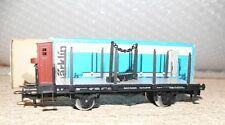 B21  Märklin  4697 Drehschemelwagen mit Bhs DRG