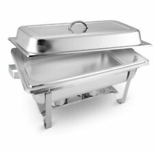 SOGA Stainless Steel 9L Chafing Dish Buffet Food Warmer