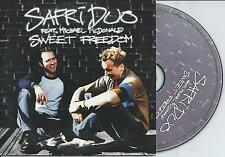 SAFRI DUO ft MICHAEL McDONALD - Sweet freedom CD SINGLE 2TR EU CARDSLEEVE 2002