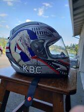 KBC MOTORCYCLE HELMET AIRBORNE EDITION #2 WAR BIRD SIZE XL RARE