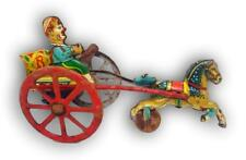 Handwagen Zinn Bell Milano Diddlina Anni 50 Hebel  indium gallium phosphid Tipp