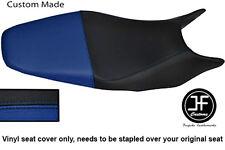 Black & R Vinilo Azul Personalizado SE AJUSTA a HONDA HORNET CB 600 98-01 Dual Cubierta de asiento solamente