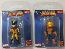 Marvel Secret Wars Micro Bobbles Wolverine Hobgoblin Superheroes GG Mini