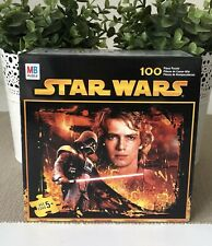 MB Star Wars Jigsaw Puzzle 100 Pieces by Milton Bradley Hasbro Made In USA