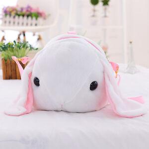 Kawaii Japanese Lolita Shy Lop Rabbit Doll Shoulder Bag Cute Bunny Long Ears
