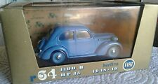 BRUMM serie ORO, FIAT 1100B, 1948/49, SUPERMINT IN BOX 1/43