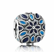 Authentic PANDORA 791374ENMX CATHEDRAL ROSE Charm